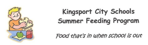 Click here for information about Kingsport City Schools' summer feeding program