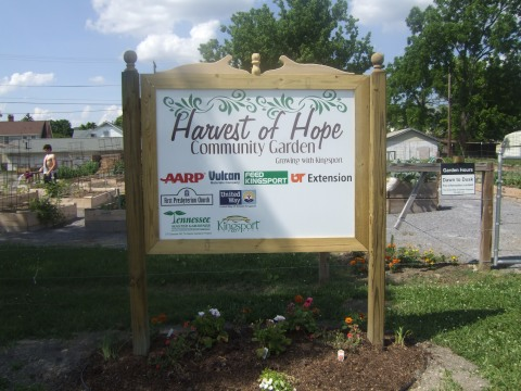 Harvest of Hope sign (2)